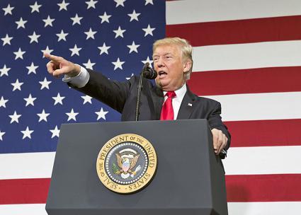 Donald Trump  (Joyce N. Boghosian)