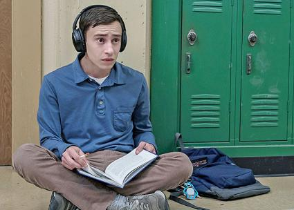 Keir Gilchrist plays Sam in the new Netflix series Atypical