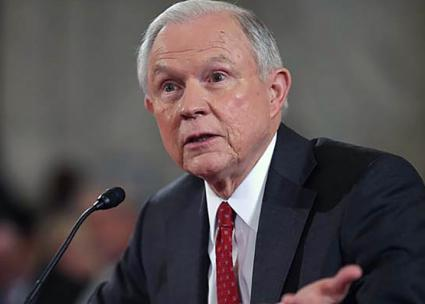 Attorney general nominee Jeff Sessions fields questions during his Senate confirmation hearing