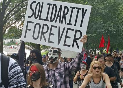 Joining together in the Juggalo March on Washington (Michael Shallal)