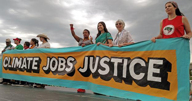 Among the huge turnout at the People's Climate March in Washington, D.C. (Evelyn Kilgallen)
