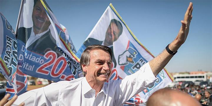 Far-right candidate Jair Bolsonaro