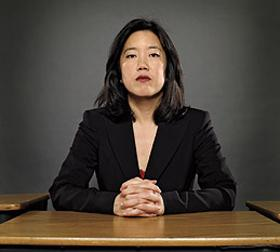 "Michelle Rhee has been a leading voice of the ""blame the teachers"" chorus"