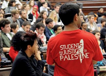 A Students for Justice in Palestine conference underway at Columbia University
