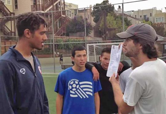 "The ""tech bros"" show off their paid-for permit to use a Mission soccer field"