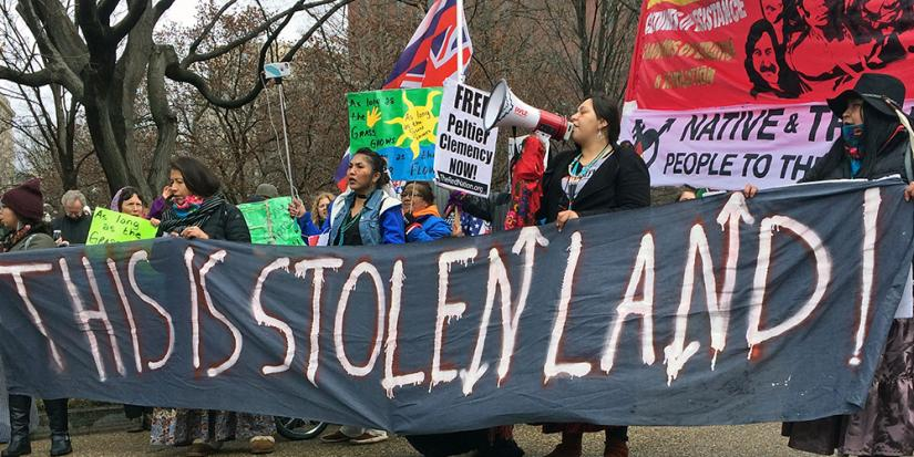 Thousands mobilized for the Native Nations Rise demonstration in Washington