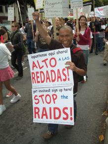 San Francisco's second annual May Day demonstration for immigrant rights in 2007