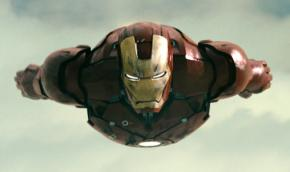 Robert Downey Jr. plays the superhero Iron Man, a weapons industry executive who has a change of heart--literally