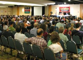 Activists gathered from across the U.S. and other countries at Socialism 2008