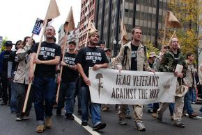 Iraq Veterans Against the War members
