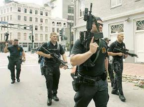 Blackwater's heavily armed security forces