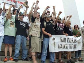Members of Iraq Veterans Against the War