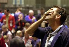 Turmoil in the financial markets