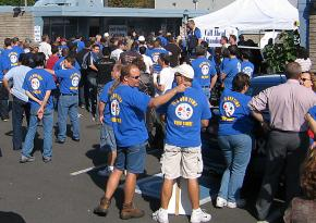 More than 2,000 Boeing workers turned out for the contract and strike vote in Renton