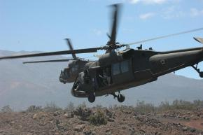 The U.S. used Blackhawk helicopters to carry out a raid in Syria
