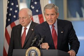 George W. Bush and Dick Cheney