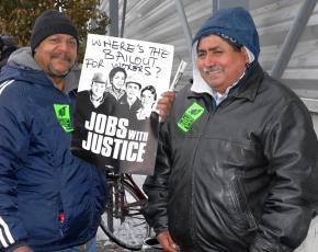 Workers at Republic Windows & Doors are occupying their factory to get what's theirs