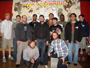 IVAW members from around the Northwest at the GI coffeehouse Coffee Strong