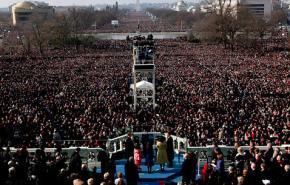 Millions gathered in Washington for Barack Obama's inauguration