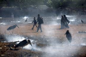 Somali refugees in the Hagadera camp, in Dadaab, Kenya