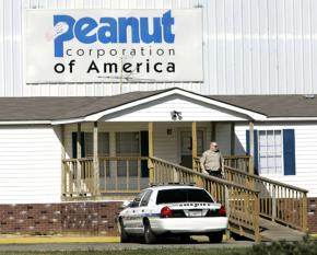 Peanut Corporation of America's processing plant in Blakely, Ga.