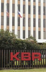Former KBR offices at Halliburton headquarters in Houston