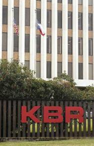 Former KBR offices at Halliburton headquarters in Houston