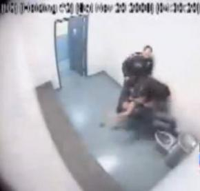 A jail camera captured the assault on a 15-year-old girl in a Seattle holding cell