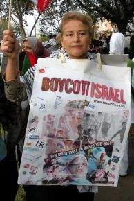 Houston demonstrators protest Israel's assault on Gaza