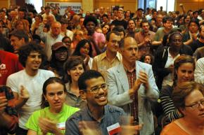 The final plenary of the Socialism 2009 conference in Chicago