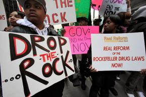 Protests helped lead to the repeal of the draconian Rockefeller drug sentencing laws