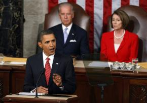 President Obama speaks on health care reform to a joint session of Congress