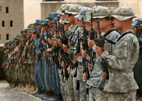 Members of the U.S. Army's 82nd Airborne in Afghanistan