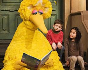 Big Bird, the heart of Sesame Street