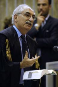 Italian prosecutor Armando Spataro