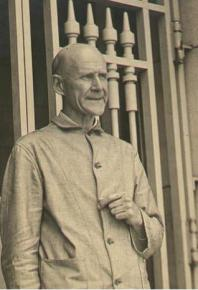 Socialist Party presidential candidate Eugene Debs in Atlanta Federal Penitentiary for opposing the First World War