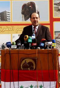 Iraqi Prime Minister Nuri al-Maliki