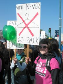 Activists rally to defend safe and legal abortions in San Francisco