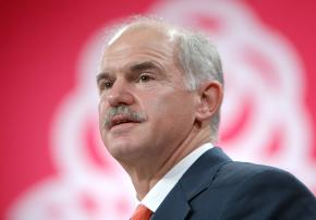 Greek Prime Minister Georgios Papandreou
