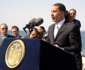 New York Gov. David Paterson