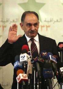 Saleh Muhamed al-Mutlaq, head of the Iraqi National Dialogue Front, the second-largest Sunni party in parliament