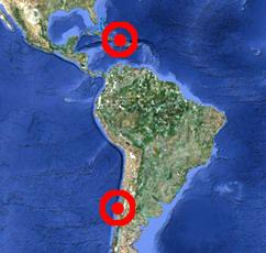 A tale of two earthquakes
