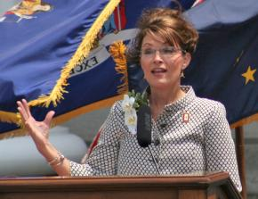 Former Alaska Gov. and tea party favorite Sarah Palin