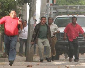 Paramilitaries in Oaxaca, 2006