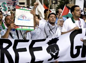 Marching for justice in Palestine following Israel's massacre of the Gaza Freedom Flotilla