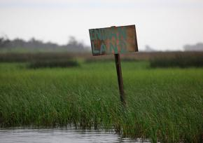 The BP oil spill disaster is taking a heavy toll on the Pointe-au-Chien Indian tribe