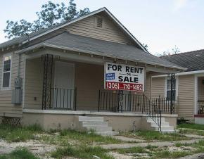 A house for rent in New Orleans