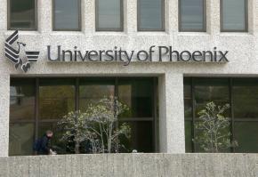 A University of Phoenix campus in Arlington, Va.