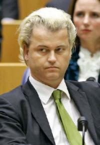 Holland's Party of Freedom leader Geert Wilders