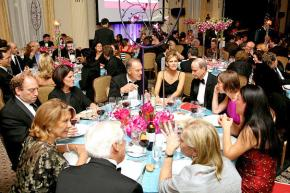 A party at the Waldorf Astoria to celebrate the life's work of an investment banker